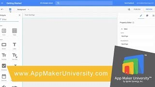 Getting Started with App Maker