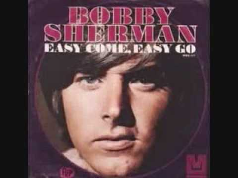 Image result for easy come easy go bobby sherman