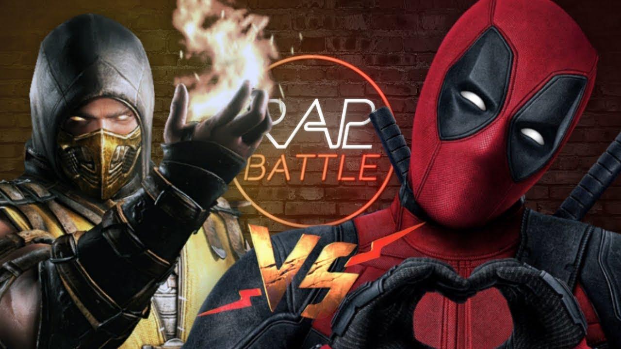 Рэп Баттл - Скорпион vs. Дэдпул (SCORPION VS. DEADPOOL)
