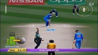India Vs Sri Lanka - 10 Overs Match 1 Part 1 - EA CRICKET 18 PC Gameplay