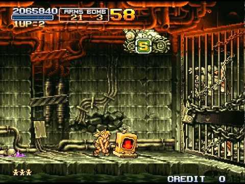Metal Slug 2: Super Vehicle-001/II Walkthrough/Gameplay Neo Geo