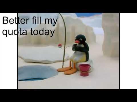 Comrade Pingu Goes Fishing