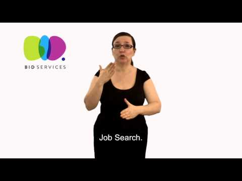Employment Service - Job Seekers in BSL