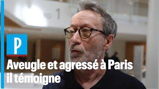 La personne aveugle agressée à Paris par un chauffard témoigne