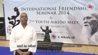 5th International Friendship Seminar - Aziz Belhassane Shihan (6th Dan)