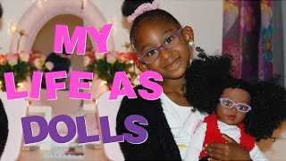 "MY LIFE AS DOLLS REVIEW AND COLLECTION | AFRICAN AMERICAN DOLLS | 18"" DOLL REVIEW 