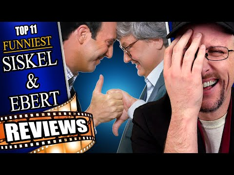 Top 11 Funniest Siskel and Ebert Reviews - Nostalgia Critic