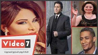 بالفيديو.. إلهام شاهين وهانى شاكر ومحمد رمضان فى حفل إطلاق البوم الفنانة أحلام