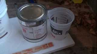 How To Epoxy Seal Concrete Fireplace Surround #2