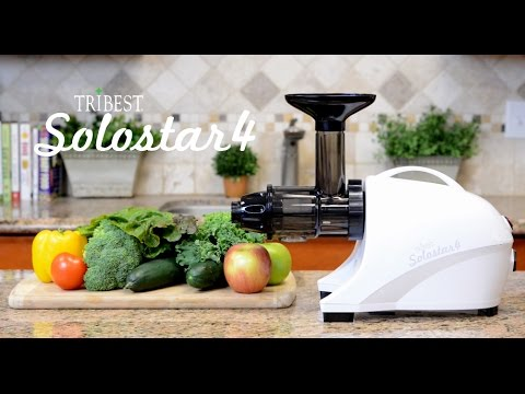 tribest solostar 4 juicer beautiful on the inside too youtube. Black Bedroom Furniture Sets. Home Design Ideas