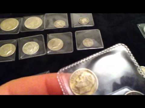 My USA silver and copper coin collection - whats the value?