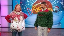 This Dollar Store Ugly Christmas Sweater Showdown Will Make You Laugh Till it Hurts