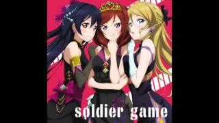 ラブライブのミニドラマです。 Soldier Gameに付属。