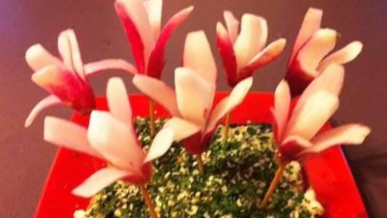 Fleurs de radis apéritif - YouTube