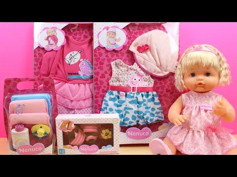 Juguetes de Nenuco en español   Ropa y accesorios para la muñeca Bebé Nenuco