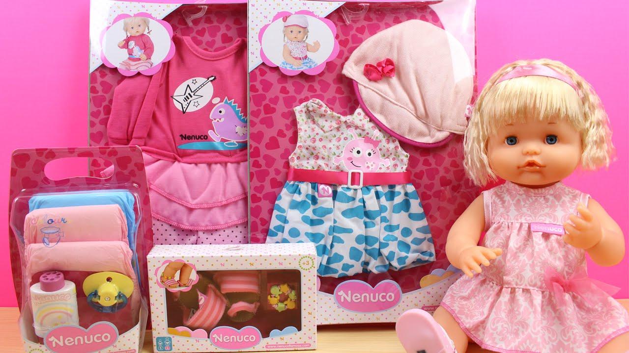 Aparador De Sala Com Espelho ~ Juguetes de Nenuco en español Ropa y accesorios para la muñeca Bebé Nenuco YouTube