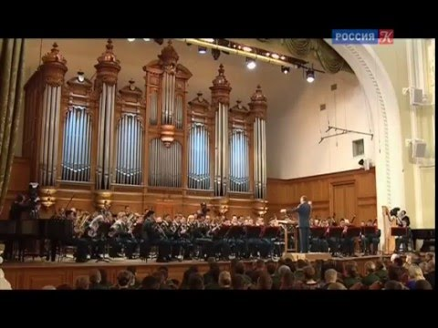 Russian Marches - Concert of Central Military band of Russia