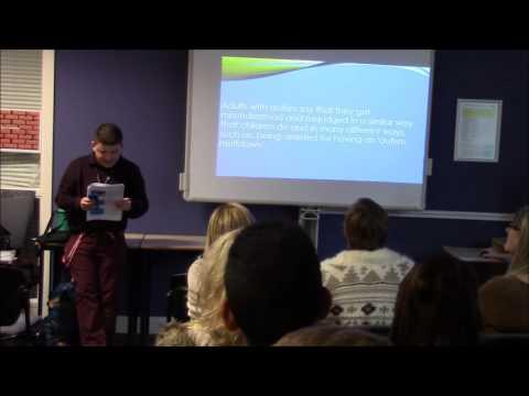 Hayden's presentation at gloucester college on 11/12/15