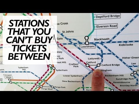 You Can't Buy A Ticket From Catford To Catford Bridge