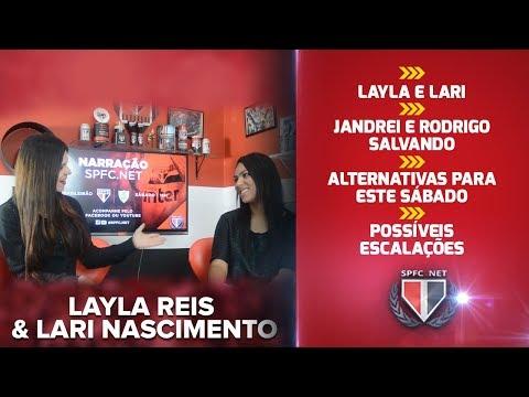 Layla & Lari - São Paulo x América MG - Informações, noticias e escalações! - SPFC.NET