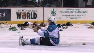 Wenatchee Wild vs Dawson Creek Rage 4th Annual Teddy Bear Toss