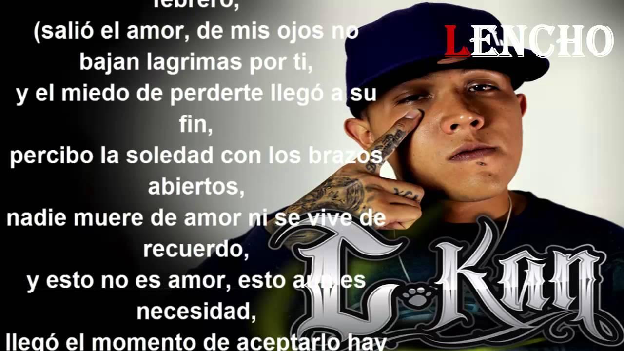 C Kan Cuando El Amor Se Acaba Letra