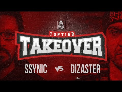 SSYNIC vs. DIZASTER CO-HOSTED BY OXXXYMIRON | TOPTIER TAKEOVER