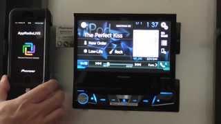 AVH-X7750BT Configuración AppRadio Live y sus Funciones