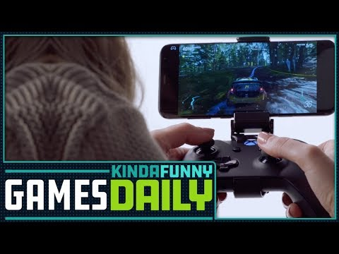 Project xCloud: Microsoft's Streaming Service - Kinda Funny Games Daily 10.08.18