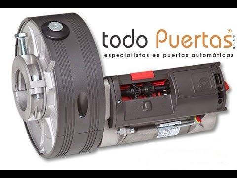 Motor puerta automatica enrollable lima per youtube for Motor puerta automatica