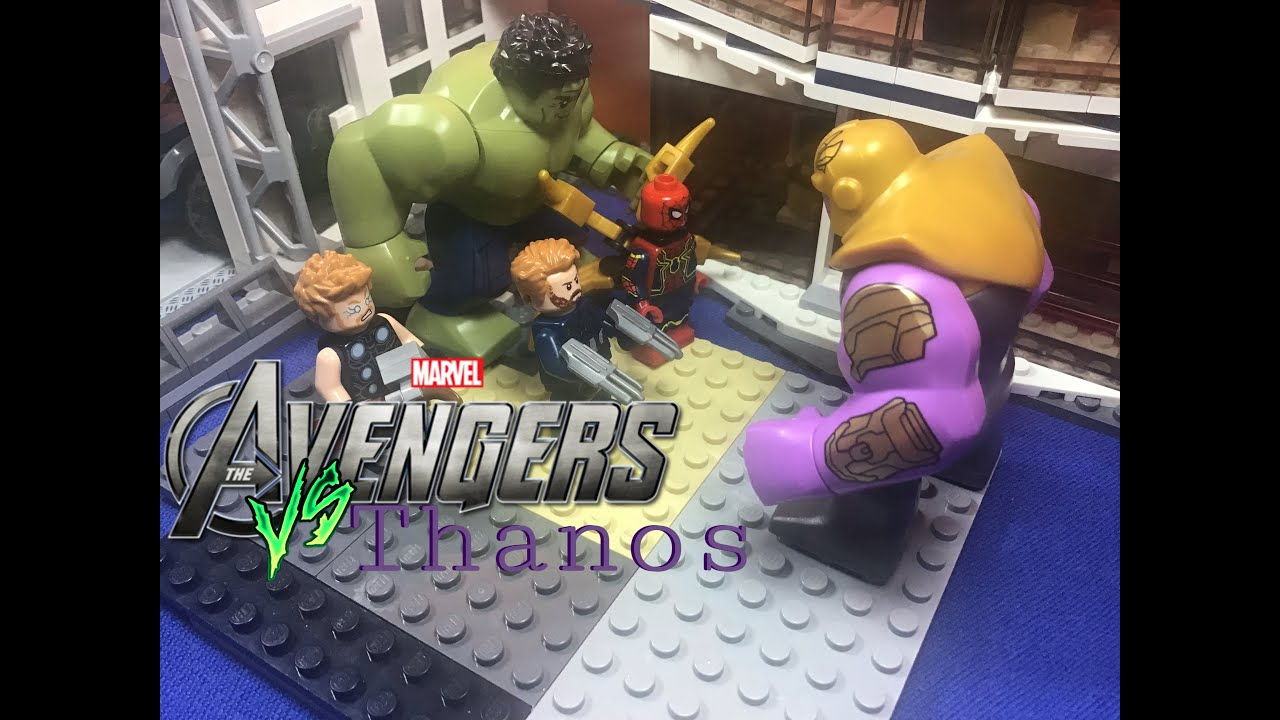 AVENGERS VS THANOS/ stop motion LEGO