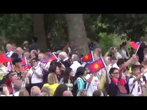 March on the Mall: South Pacific and Asia (Salvation Army, Boundless 2015)