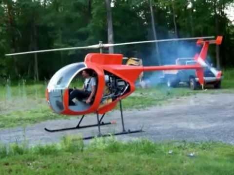 Полёты самодельных вертолётов
