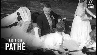 Venice - Wedding Of Princess IRA (1955)