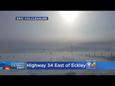 Lingering Wind & Snow Force I-70 Closure Out East