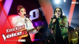 Knock Out : พลอย - แพ้ใจ VS แอ๊ด - ก้อนหินก้อนนั้น  - The Voice Thailand 6 - 7 Jan 2018