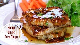 Honey Garlic  Pork Chops in 30 Minutes