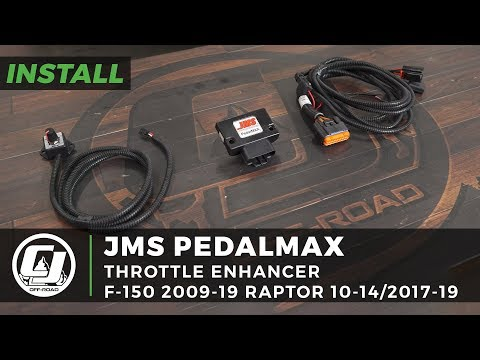 ford-f-150-install:-jms-pedalmax-plug-n-play-drive-by-wire-throttle-enhancer