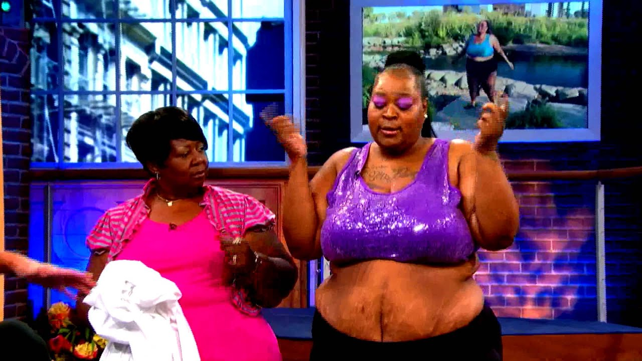 you're too big to work the twerk…maury makeovers! - youtube