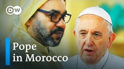 Pope Francis gets royal welcome in Morocco | DW News