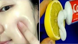 |  تبييض البشرة  الوجه في المنزل / احصل على بشرة أكثر نظافة ونظيفة والناصعة بشكل دائم