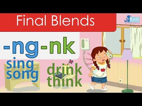 Final Blends | -ng -nk | Phonics Reader | Bring The King A Drink | Go Phonics 3F U17 | EFL