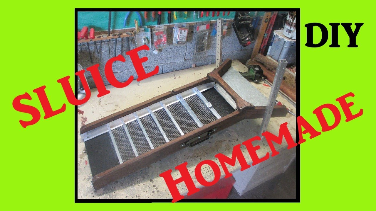 orpaillage sluice fabrication maison youtube. Black Bedroom Furniture Sets. Home Design Ideas