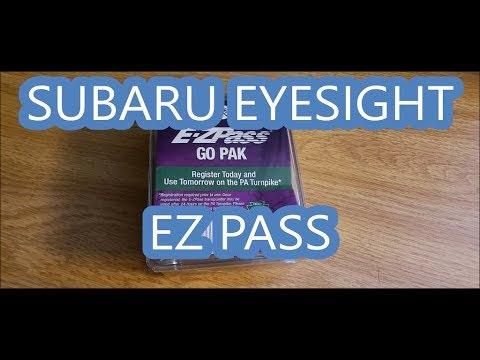 Subaru with Eyesight EZ Pass Mounting Location | Subaru