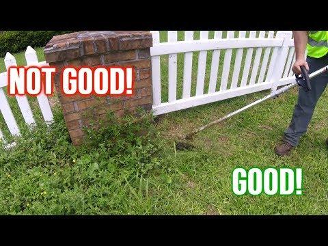 Overgrown Entrance Makes Neighborhood Look Shab; ECHO & BobCat Clean It Up!