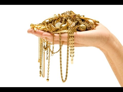 Получение золото в домашних условиях из радиодеталей\The Process of Excavating and Refining Gold