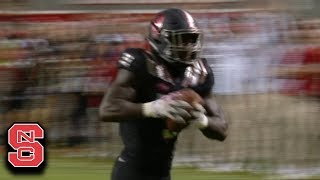 NC State LB Germaine Pratt Pick Six Seals Win vs. Louisville