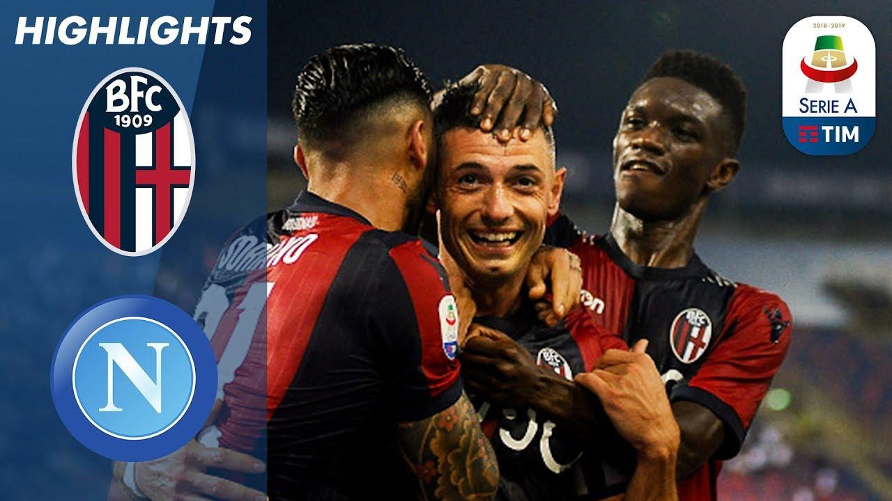 Bologna 3 2 Napoli Bologna Score Last Gasp Winner In