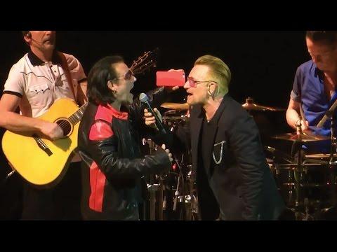 "U2 ""Sweetest Thing"" Los Angeles Forum 05-26-2015 w/ Hollywood Bono"