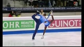 2010 World Championships Pairs FS Vanessa JAMES / Yannick BONHEUR
